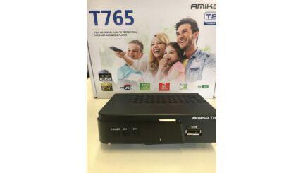 Amiko T-765 HEV-265  HD MinDig TV vevő és rögzítő