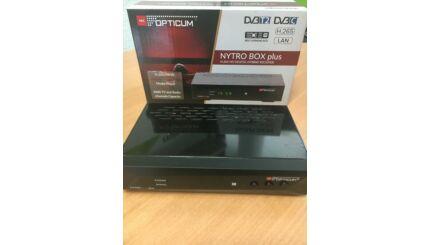 OPTICUM NYTRO BOX PLUS HEVC HD MinDig Tv és DVB-C kábeltévé vevő