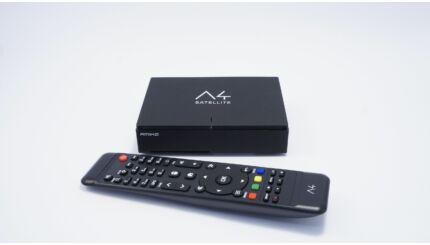 Amiko A6 Combo 4K vevő (DVB-S) (DVB-C) (DVB-T2 HEV 265) és médialejátszó WiFi-vel ára