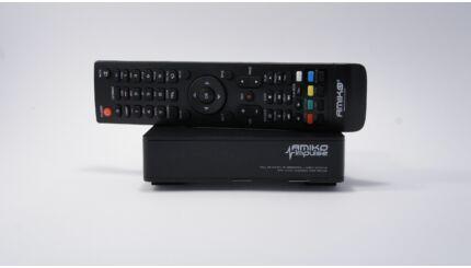 Amiko Impulse T2 HD mindigTV  szabadon fogható digitális csatornák vételére alkalmas vevő dekóder