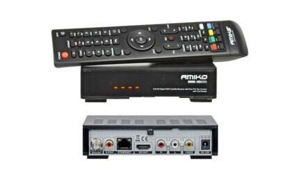Amiko Mini HD 265 műholdvevő (DVB-S) és médialejátszó