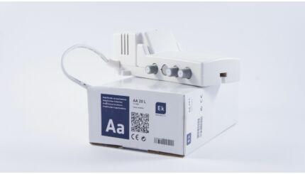 EKSELANS AA 20 L két kimenetű szabályozható MinDig TV (DVB-T) és kábeltévé (DVB-C) antennaerősítő