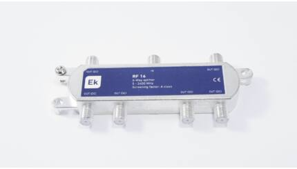 EKSELANS RF16 SF 6-os osztó (DVB-C és DVB-T)