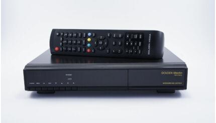 Golden Media Wizard Vote 2 HD műholdvevő, földi digitális és kábeltévé vevő és rögzítő