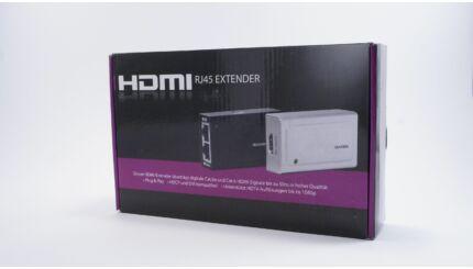HDMI továbbító / extender (RJ45)