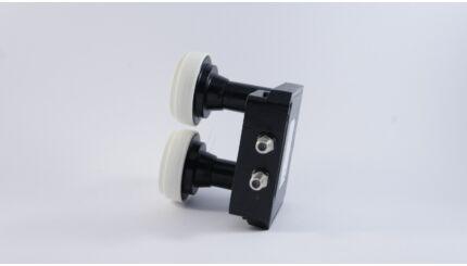 Inverto Twin Monoblock műholdvevő fej (LNB), 23mm, 6°, 80cm-es parabolához