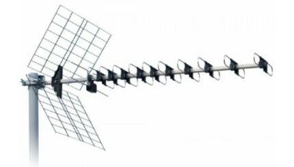 ISKRA DTX-48 F UHF szélessávú Yagi antenna MinDig TV vételéhez (DVB-T)