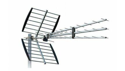 ISKRA P-47N Triplex UHF Yagi szélessávú antenna MinDig TV vételéhez (DVB-T)