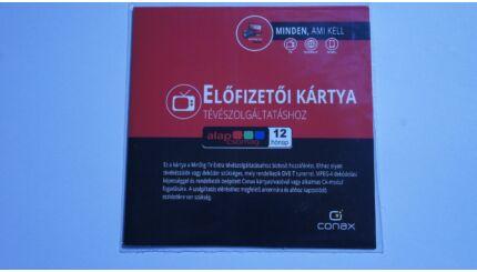 MinDig TV Extra Alapcsomag előfizetői kártya (12 hónapos)