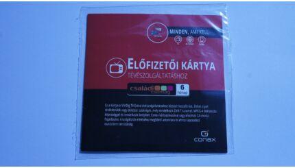 MinDig TV Extra Családi csomag előfizetői kártya (6 hónapos)