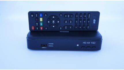 OPTICUM HD AX 150 digitális fullHD műholdvevő (DVB-S) és rögzítő (PVR)