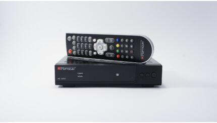OPTICUM HD X310 PVR digitális műholdvevő (DVB-S) és rögzítő - 12V-os - kamionosoknak, kempingezőknek