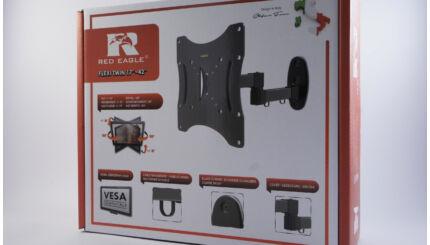OPTICUM FLEXI TWIN 17-42 col dönthető csuklós fali TV tartó konzol