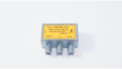 Para-Mega PMSW-210 antenna jel és kábeltévé átkapcsoló (DVB-T/CATV)