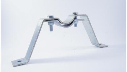 Antenna árbóccső eltartó trapéz konzol - 20 cm