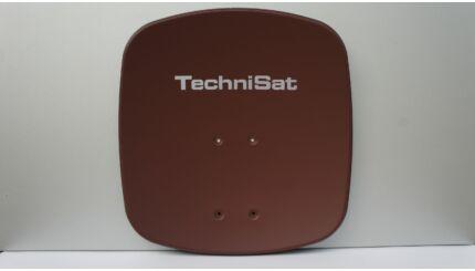 TechniSat DigiDish 45 alu kompakt parabola antenna (téglavörös)