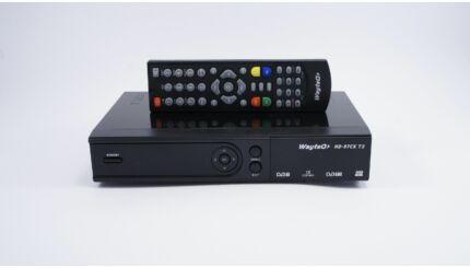 WayteQ HD-97CX T2 HD MinDig TV vevő dekóder