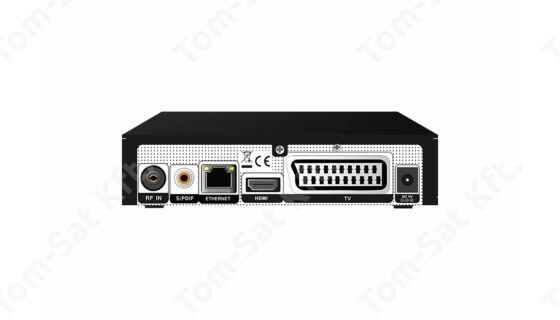 Amiko Impulse H265 T2/C HD kábeltévé és mindigTV PRÉMIUM vevő, rögzítő