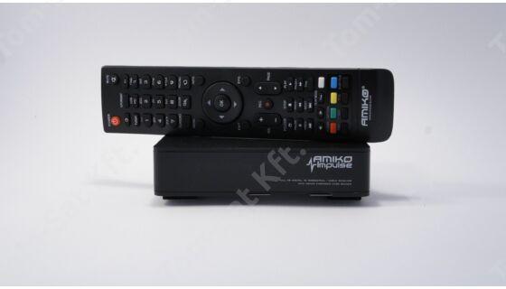 MinDig TV Extra Alapcsomag Amiko Impulse MinDig TV vevő dekóderrel (12 hónapos előre fizetett csomag)