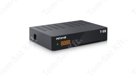 Amiko T-70 H-265  HD MinDig TV vevő és rögzítő