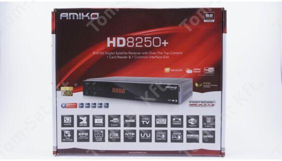 Amiko HD-8250+ műholdvevő (DVB-S) és rögzítő