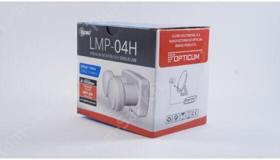 Opticum LMP-04H  Monoblock Single műholdvevő fej, 6° LNB 80Cm-es parabolához