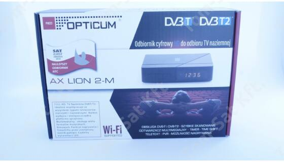OPTICUM AX LION 2-M HD MinDig TV vevő (DVB-T)