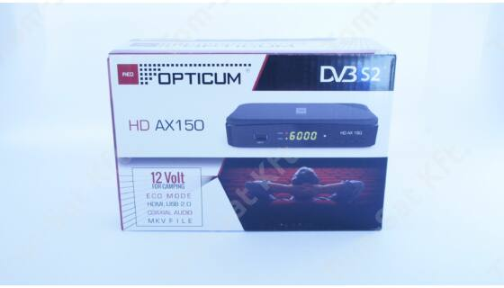 OPTICUM HD AX 150 digitális fullHD műholdvevő (DVB-S) és rögzítő (PVR) ára