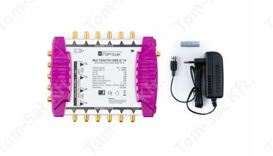 OPTICUM OMS 9/12 P multiswitch elosztó műholdvevőkhöz