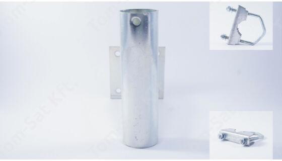 Antennatartó konzol (falra, korlátra, balkonra, csőre) - 30cm