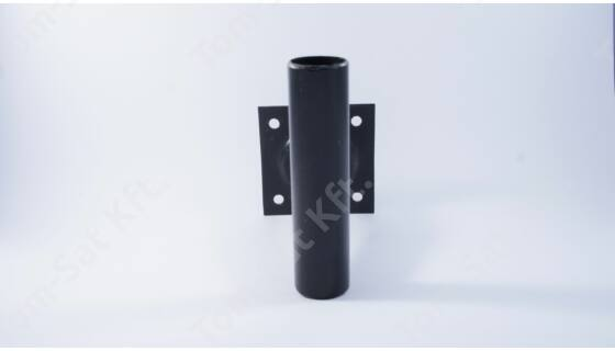 Antennatartó falikar 15cm - fekete