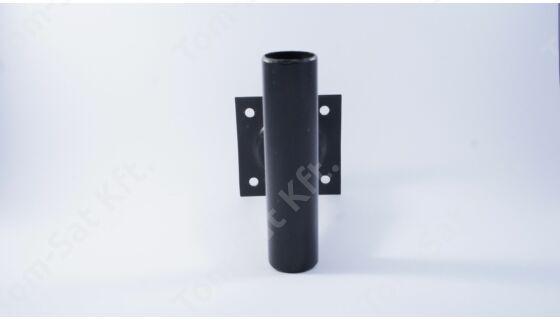 Antennatartó falikar 30cm - fekete