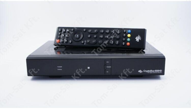 AB CryptoBox 800UHD 4K műholdvevő (DVB-S2X, H.265) és IPTV vevő és rögzítő