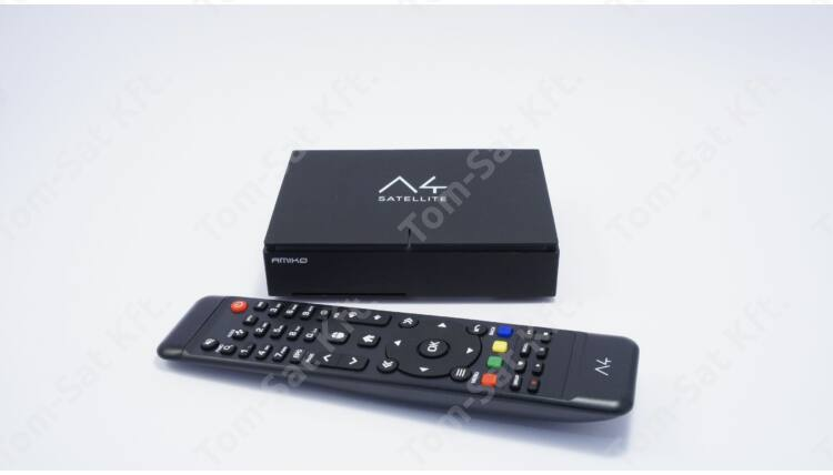 Amiko A4 Satellite műholdvevő (DVB-S) és médialejátszó WiFi-vel ára