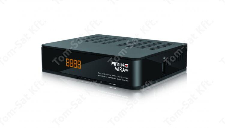 Amiko Mira fullHD műholdvevő beépített WiFi-vel ára