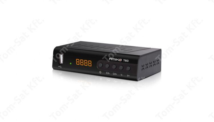 Amiko T-60 földi digitális DVB-T (MinDig TV) vevő és rögzítő