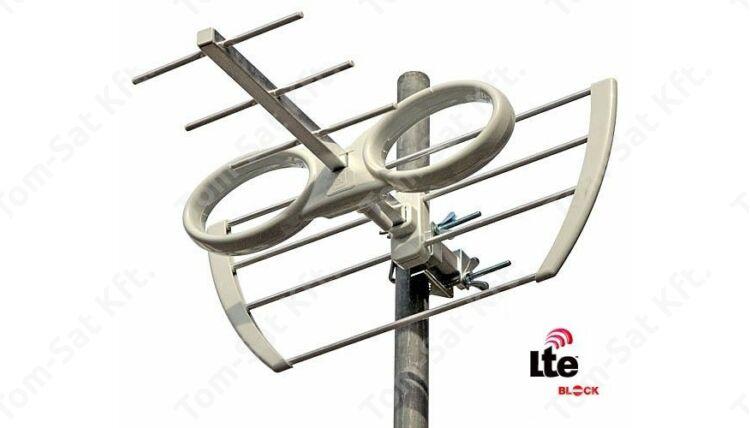 EKSELANS EK MINI LTE szűrős MinDig TV antenna (DVB-T)