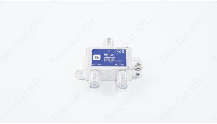 EKSELANS RF12 SF 2-es osztó (DVB-T és DVB-C)