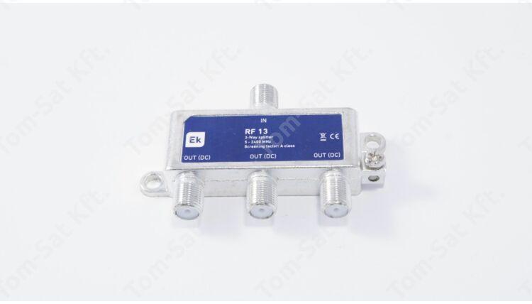EKSELANS RF13 SF 3-as osztó (DVB-C és DVB-T)