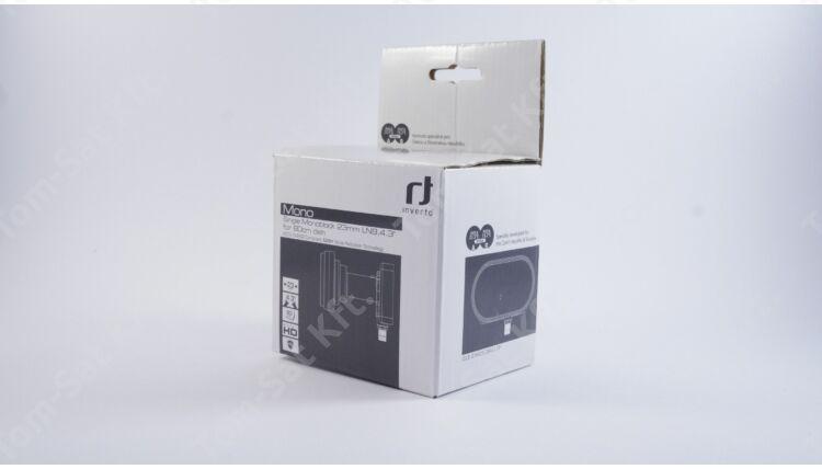 Inverto Single Monoblock műholdvevő fej (LNB), 23mm, 4,3°, 80cm-es parabolához