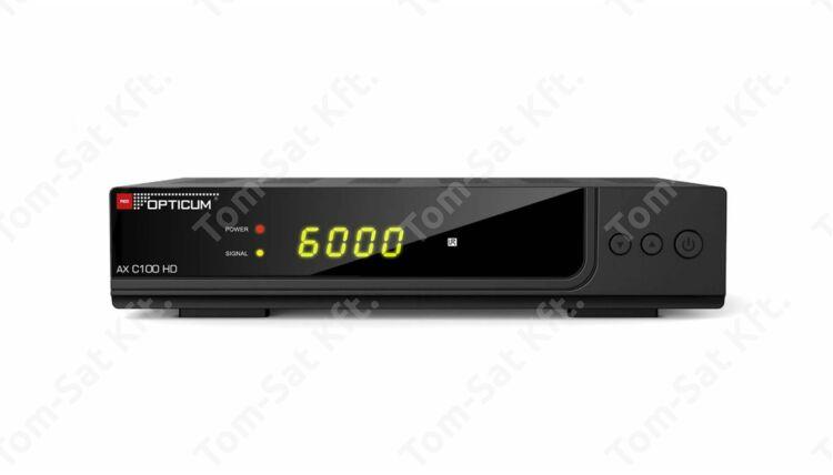 OPTICUM AX C100 HD digitális kábeltévé vevő