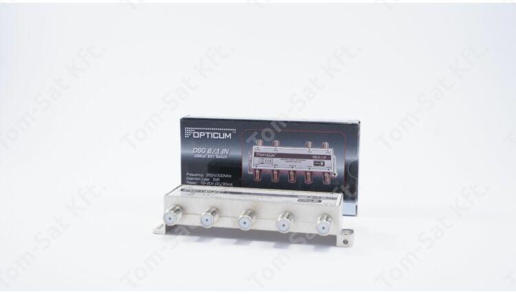 OPTICUM DSG 8/1 DiSEqC kapcsoló (osztó, 8 bemenet) DVB-S