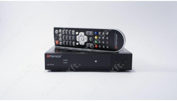 OPTICUM HD X310 PVR digitális műholdvevő (DVB-S) és rögzítő