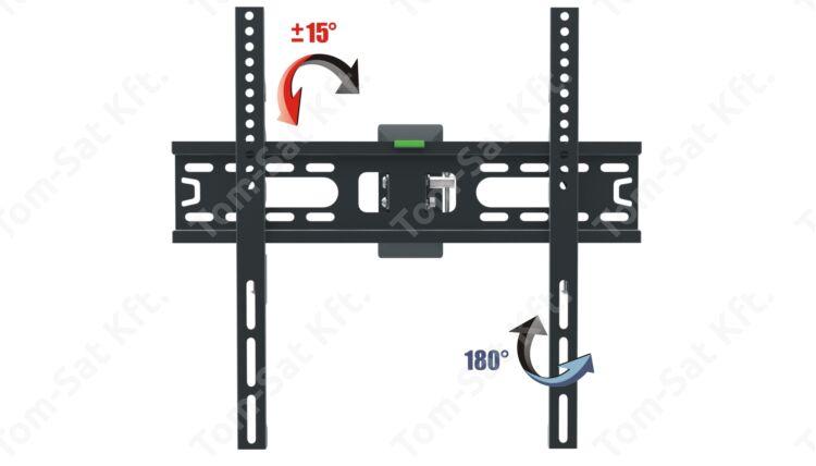 OPTICUM AX PREMIUM 26-55 col dönthető forgtható fali TV tartó konzol