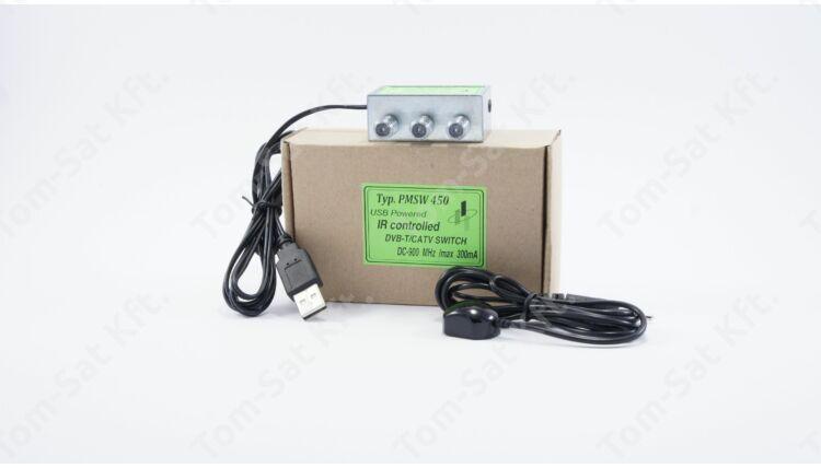Para-Mega PMSW 450 földi digátális (DVB-T) / kábeltévé infra átkapcsoló