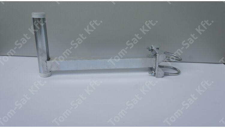 Antenna erkélytartó (korlátra, balkonra) 20cm