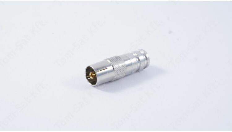 Cabelcon kompressziós lengő koax dugó aljzat
