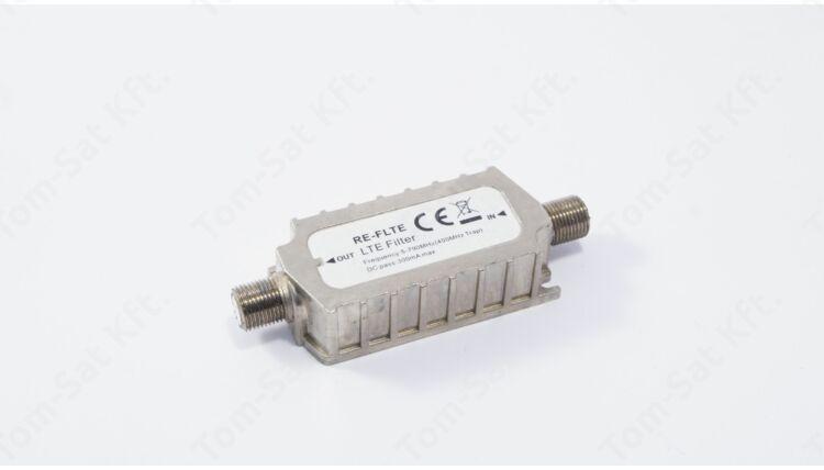 Passzív LTE szűrő F-csatlakozós (DVB-T, MinDig  TV)