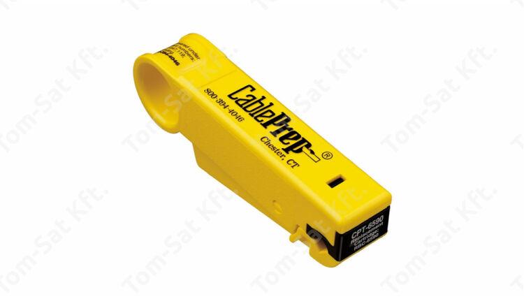 Koax kábel csupaszító RTG/59 ÉS RG6 kábelhez (koax kábel blankoló) CPT-6590