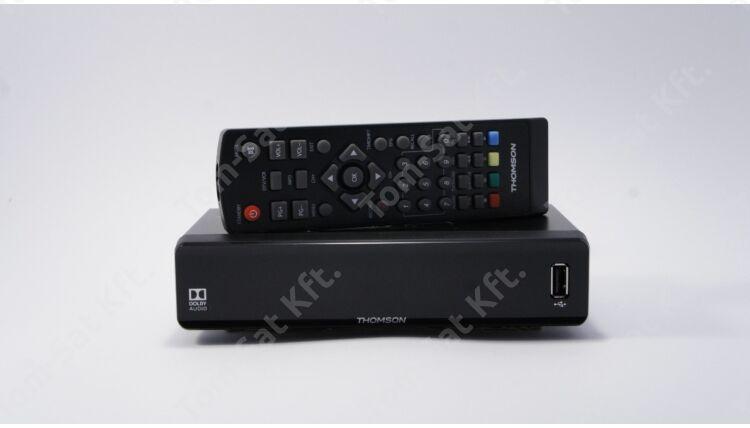 THOMSON THC301 digitális kábeltévé (DVB-C) vevő és rögzítő